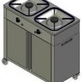 Плита газовая 2-конфорочная Heidebrenner KSB 02 8123, новая